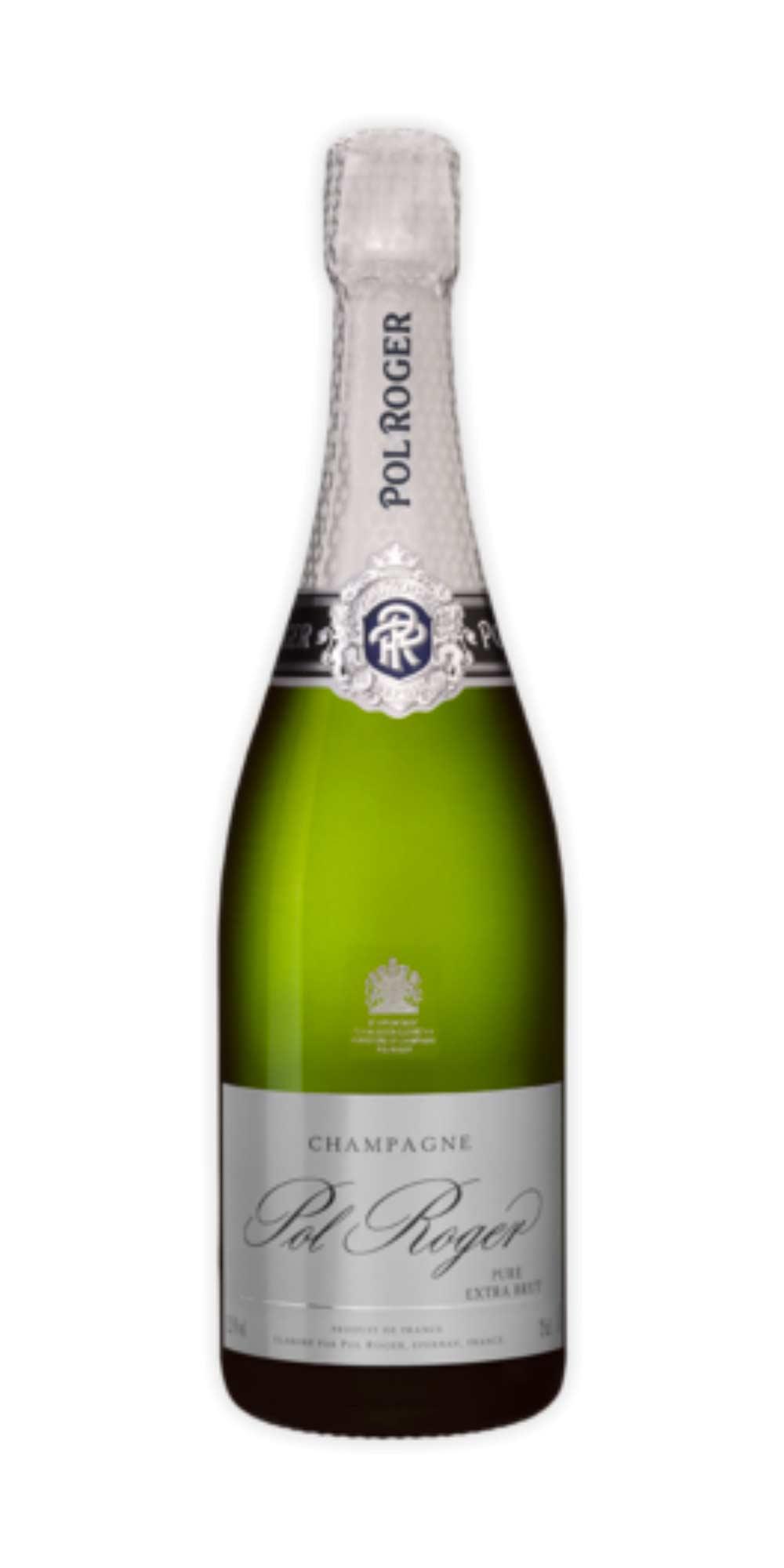 Champagne extra-brut Pure Pol Roger - Wine il vino