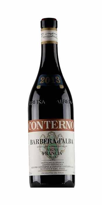 Barbera d'Alba vigneto Francia 2013 Conterno Giacomo - Wine il vino