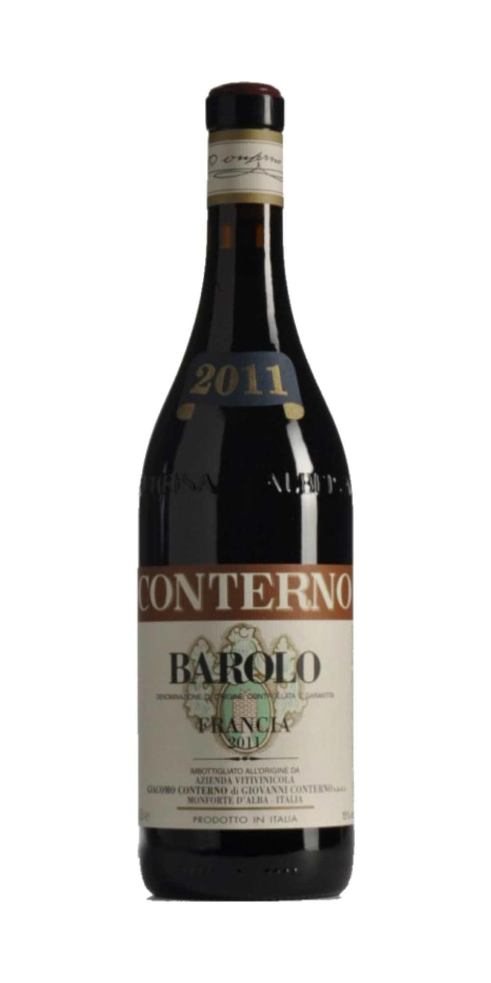 Barolo Cascina Francia 2011 Magnum Conterno Giacomo - Wine il vino