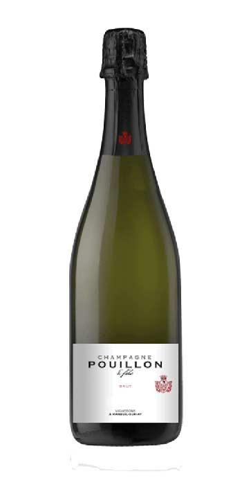 Champagne brut Blanc de Blancs 1er cru Pouillon - Wine il vino