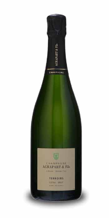 Champagne extra-brut Blanc de Blancs Terroirs Agrapart - Wine il vino