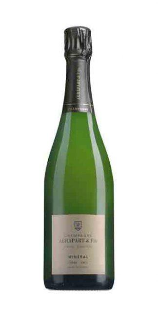 Champagne extra-brut Minéral Blanc de Blancs 2007 Magnum Agrapart - Wine il vino