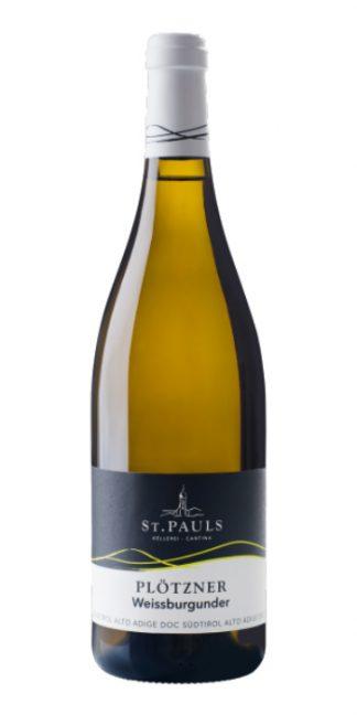 Alto Adige Pinot Bianco Plötzner 2016 St. Pauls white wine - Wine il vino