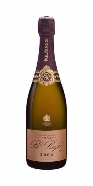 Champagne brut Rosé Vintage 2006 Pol Roger - Wine il vino