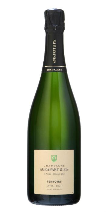 vendita vini on line champagne extra brut terroirs agrapart - Wine il vino