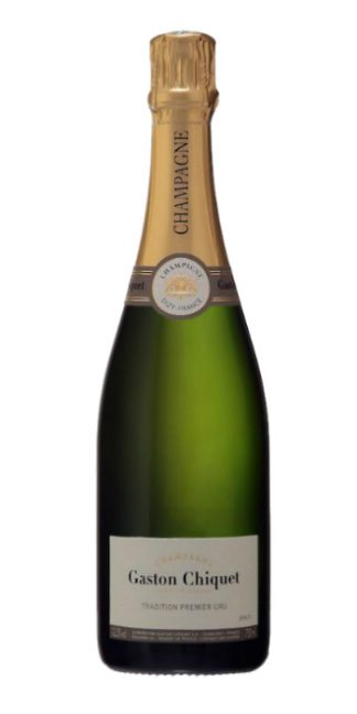 Champagne brut Tradition Premier Cru Gaston Chiquet - Wine il vino