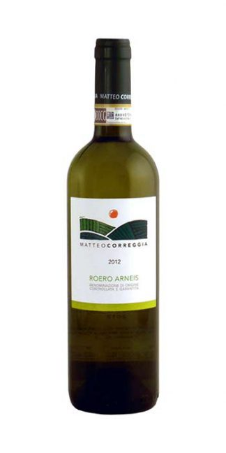 Roero Arneis 2016 Matteo Correggia white wine - Wine il vino
