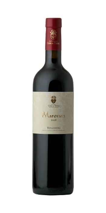 Bolgheri Rosso Maronea 2012 Fattoria Casa di Terra - Wine il vino