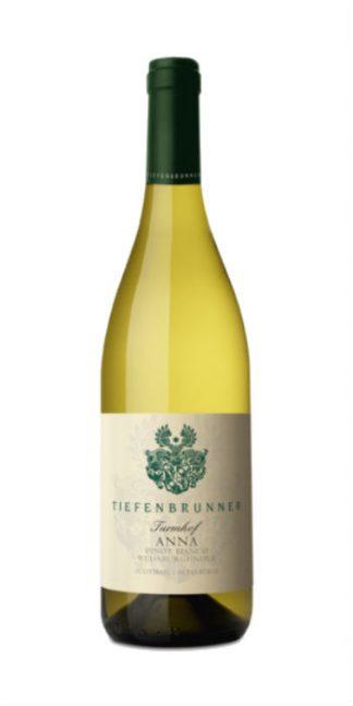 Alto Adige Pinot Bianco Anna 2016 Tiefenbrunner white wine - Wine il vino