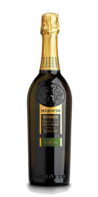Prosecco Superiore di Valdobbiadene extra dry Colbelo Merotto - Wine il vino