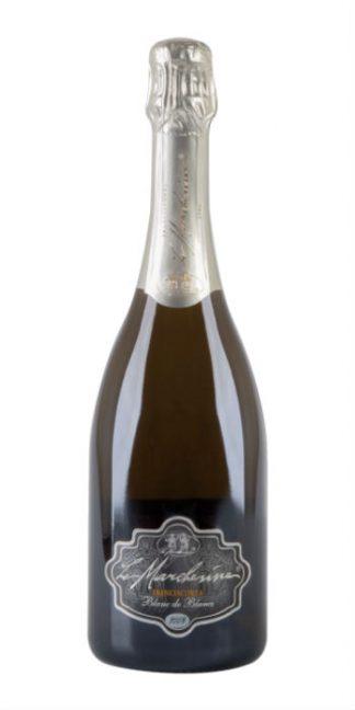 Franciacorta brut Blanc de Blancs 2010 Le Marchesine sparkling wine - Wine il vino