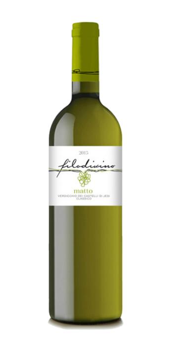 Verdicchio dei Castelli di Jesi Classico Matto 2015 Filodivino - Wine il vino