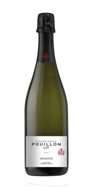 Champagne brut Cuvée Réserve Pouillon - Wine il vino