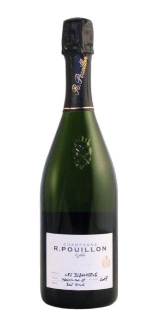 Champagne brut nature Les Blanchiens 2008 Pouillon - Wine il vino