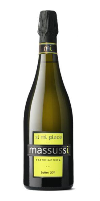 Franciacorta brut Satèn 2011 Massussi - Wine il vino