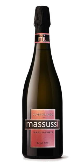 vendita vini online franciacorta extra brut rose cuvee del lago 2011 massussi - Wine il vino