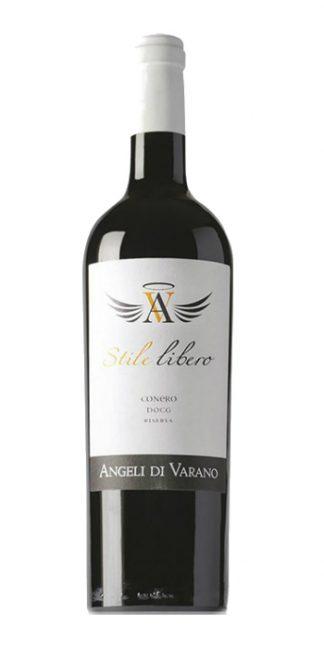 Conero Riserva Stile Libero 2015 Angeli di Varano - Wine il vino