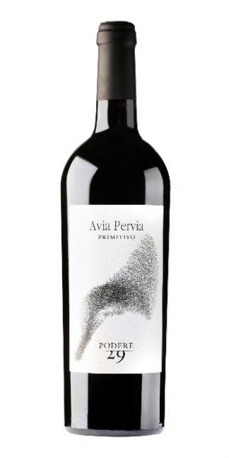 Puglia Primitivo Avia Pervia 2014 Podere 29 - Wine il vino