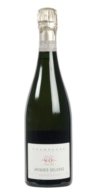 Champagne extra brut V.O. Blanc de Blancs Grand Cru Selosse - Wine il vino
