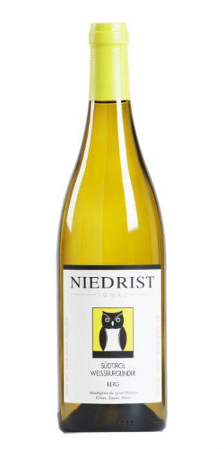 Alto Adige Pinot Bianco Berg 2016 Niedrist - Wine il vino