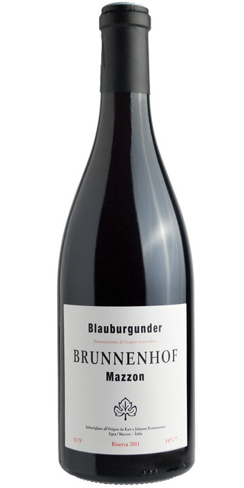 Alto Adige Pinot Nero Mazzon Riserva 2013 Brunnenhof - Wine il vino
