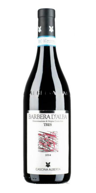 Barbera d'Alba Tres 2014 Cascina Alberta - Wine il vino