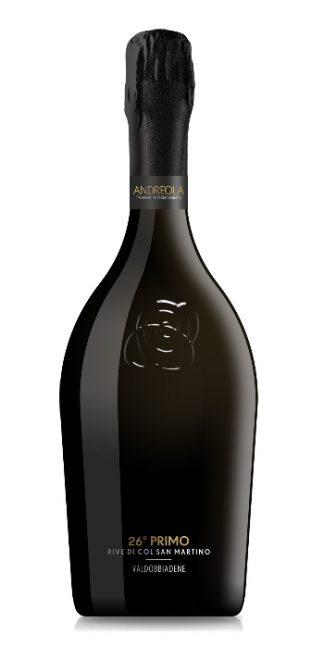 Prosecco di Valdobbiadene Superiore Brut (Zero gl) 26° Primo Andreola - Wine il vino