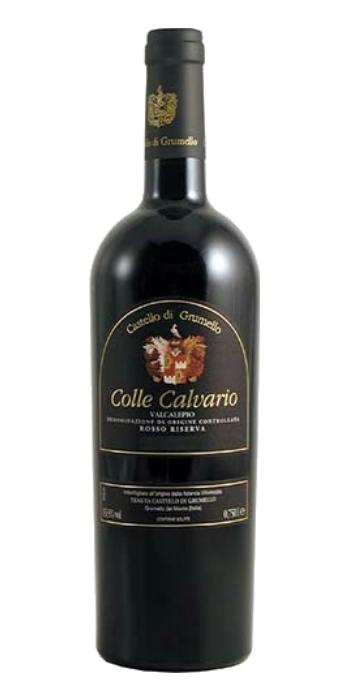 Valcalepio Rosso Riserva Colle Calvario 2010 Castello di Grumello red wine - Wine il vino