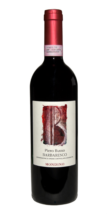 Barbaresco Mondino 2014 Piero Busso red wine - Wine il vino