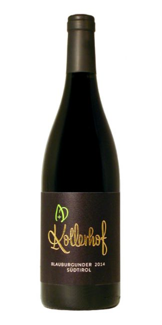 Alto Adige Pinot Nero Mazzon 2014 Kollerhof - Wine il vino