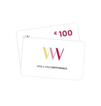 Carta regalo 100 euro - Wine il vino