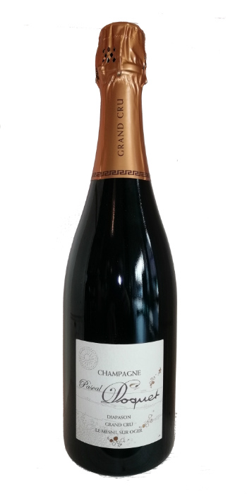 Champagne extra brut Grand Cru Blanc de Blancs Diapason Pascal Doquet - Wine il vino