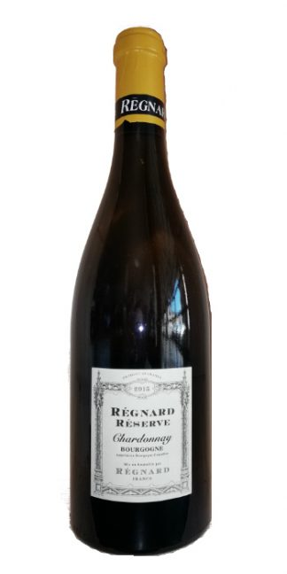 Bourgogne Chardonnay Réserve 2015 Regnard - Wine il vino