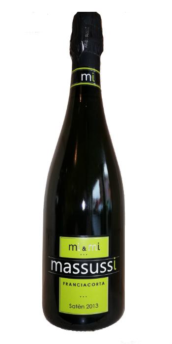 Franciacorta brut Satèn mi & mi 2013 Massussi - Wine il vino