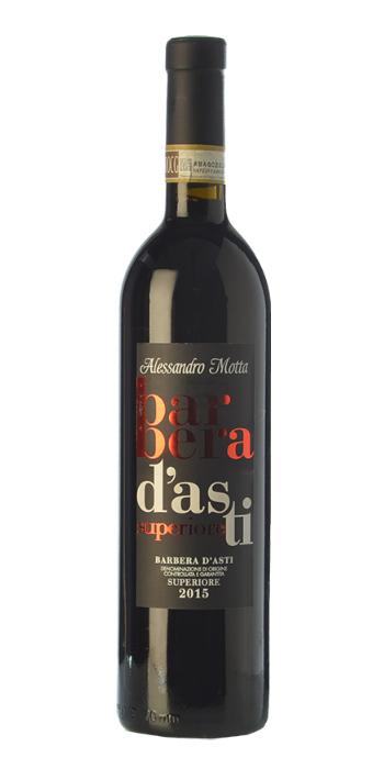 Barbera d'Asti Superiore 2015 Alessandro Motta - Wine il vino