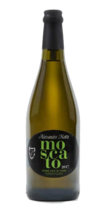 Moscato d'Asti 2017 Alessandro Motta - Wine il vino