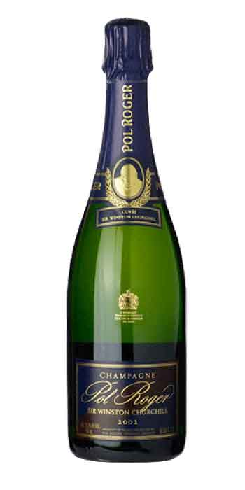 Champagne brut Cuvée Winston Churchill 2002 Pol Roger - Wine il vino