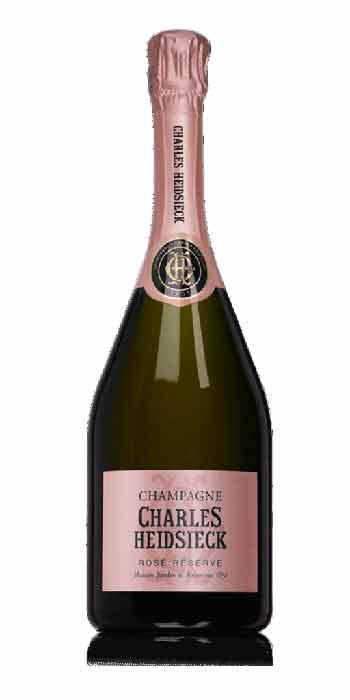 Champagne brut Réserve Rosé Charles Heidsieck - Wine il vino