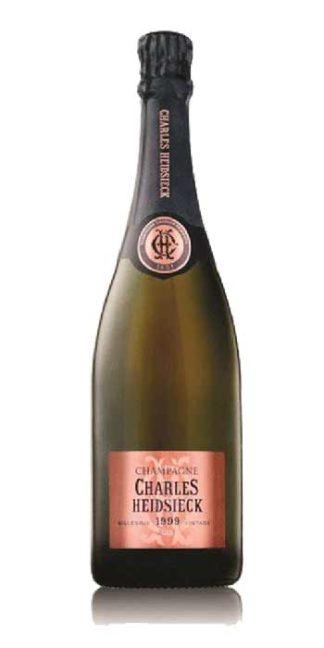 Champagne brut Rosé Vintage 1999 Charles Heidsieck - Wine il vino