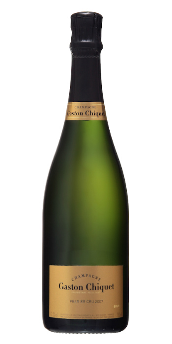 Champagne brut Premiere Cru 2007 Gaston Chiquet - Wine il vino