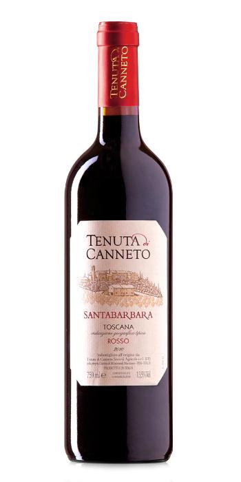Toscana Rosso Santa Barbara 2016 Tenuta di Canneto - Wine il vino