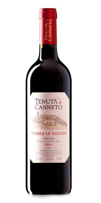 Toscana Rosso Syrah Podere le Vizzate 2016 Tenuta di Canneto - Wine il vino