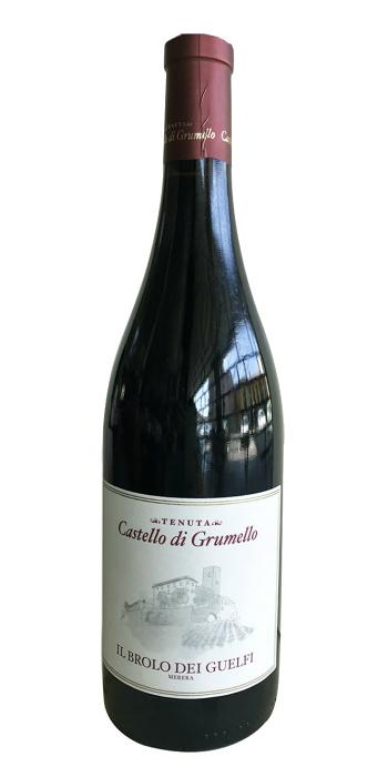 Vino Rosso Il Brolo dei Guelfi Merera 2015 Castello di Grumello red wine - Wine il vino
