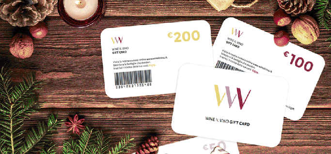 Carta regalo | Wine il vino