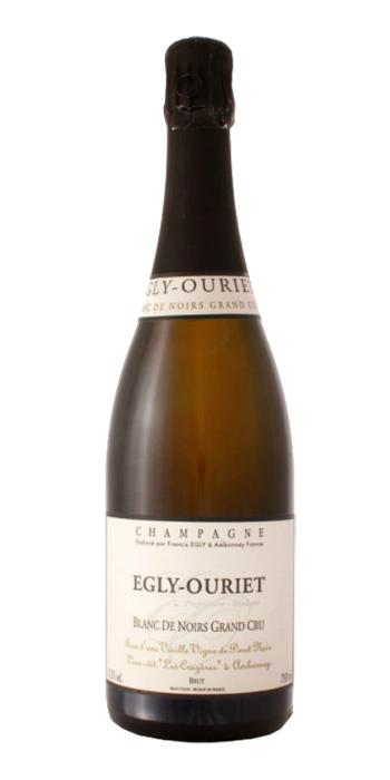 Champagne brut Grand Cru Blanc de Noirs Les Crayères Egly Ouriet - Wine il vino