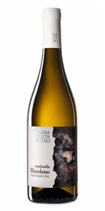 Etna Bianco Contrada Blandano 2014 Terra Costantino - Wine il vino