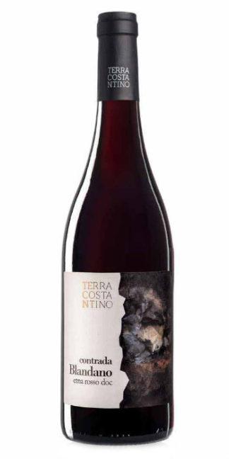 Etna Rosso Contrada Blandano 2014 Terra Costantino - Wine il vino
