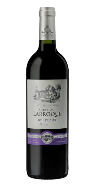 vendita vino online Bordeaux Rouge Chateâu Larroque 2012 Ducourt - Wine il vino