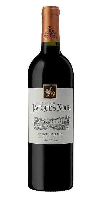 vendita vino online Saint Emilion Chateau Jacques Noir 2015 Ducourt - Wine il vino