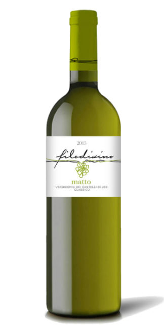 Vendita Vino on line verdicchio dei castelli di jesi calssico superiore matto filodivino - Wine il vino
